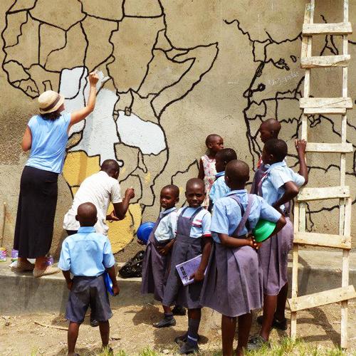 drawing africa uganda